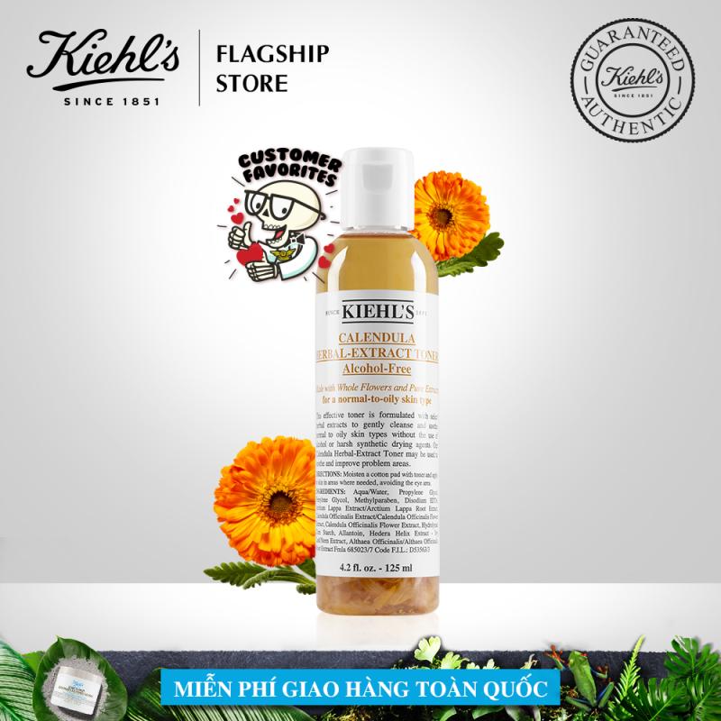 Nước cân bằng Hoa Cúc Kiehls Calendula Herbal Extract Alcohol-Free Toner 125ML
