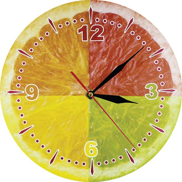 Nơi bán đồng hồ treo tường quả cam 4 màu .