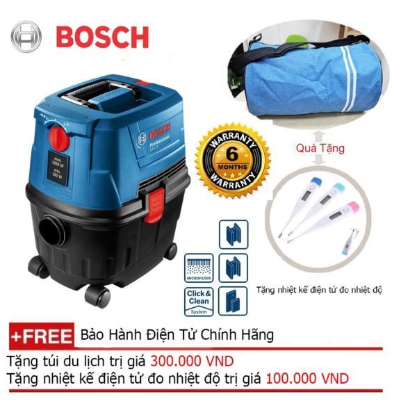 Máy hút bụi Bosch GAS 15 + Quà tặng balo du lịch