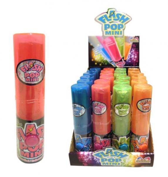 [Siêu hot]  Kẹo Son Flash Pop Mini ( có đèn phát sáng ) Vị Dưa Hấu loại 18g ( Mẫu mới  - Nội địa USA- Xách tay Mỹ - HSD : 10/2020)