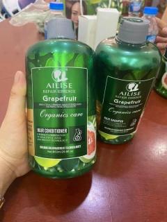 [Chính hãng]] Dầu xả bưởi Grapefruit Ailise siêu mượt phục hồi kích thích mọc tóc cao cấp (UK) 850ml thumbnail