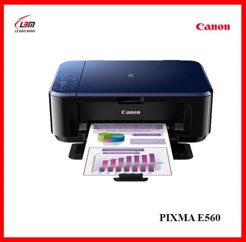 Máy in phun đa chức năng Canon E560 - Hàng chính hãng Lê Bảo Minh