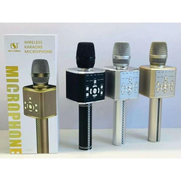 Micro Karaoke YS97 đời cao hơn mic YS95 kèm loa bluetooth