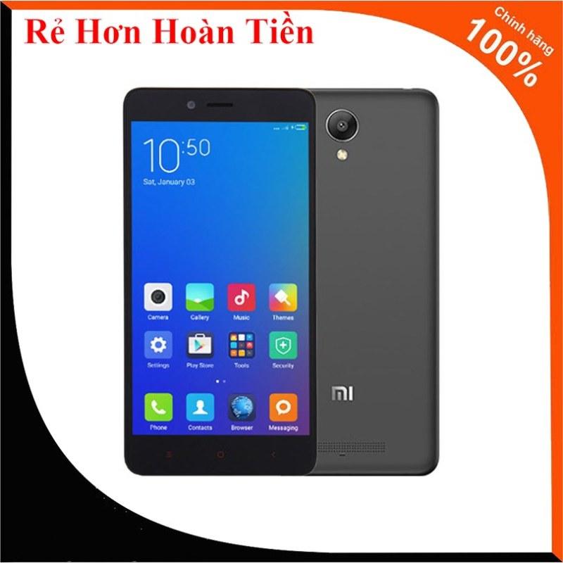 Rẻ Hơn Hoàn Tiền - Điện Thoại Smartphone Xiaomi Redmi Note 2 (2GB/16) Xám - Bảo Hành 1 Đổi 1