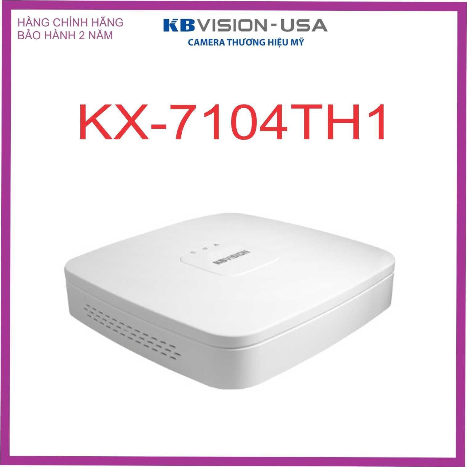 ĐẦU GHI CAMERA KBVISION KX-7104TH1