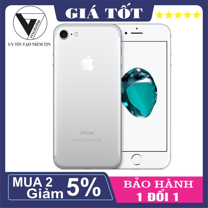 Điện thoại iPhone 7 128GB QUỐC TẾ fullbox bảo hành 12 thángCó kháng nước vân taykết nối Camera wifi tai nghe bluetooth loa bluetoothđồng hồ thông minhsạc dự phòngthuộc mẫu.