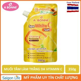 Muối Tắm Tẩy Tế Bào Chết và Làm Trắng Da A Bonne Spa Milk Salt Vitamin C thumbnail