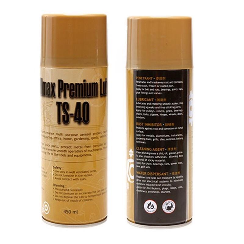Chai xịt vệ sinh sên, chống rỉ sét, kháng nước TS-40 450ml