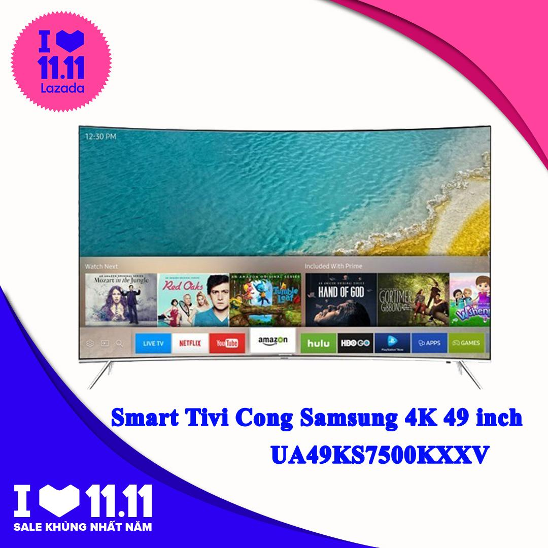 Smart Tivi Cong Samsung 4K 49 inch UA49KS7500KXXV