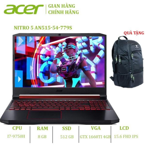 Bảng giá Laptop Acer Nitro 5 AN515-54-779S (i7-9750H | 8GB | 512GB | VGA GTX 1660Ti 6GB | 15.6 FHD 120Hz | Win 10) Phong Vũ