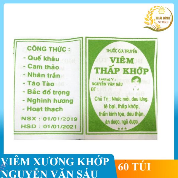 Xương Khớp Nguyễn Văn Sáu (30-50-100 gói) cao cấp