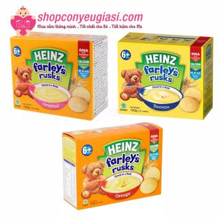 Bánh Quy Heinz Farley s Rusks 120g Nhiều Vị Cho Bé Ăn Dặm - Vị Tự Nhiên date 7 2021 thumbnail