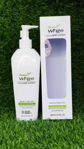 [HCM]Sữa dưỡng trắng da Aroma White 480ml cao cấp