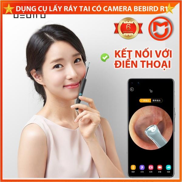 [CHÍNH HÃNG] Dụng cụ lấy ráy tai có camera Xiaomi Bebird R1. Dụng cụ lấy ráy tai nội soi thông minh.