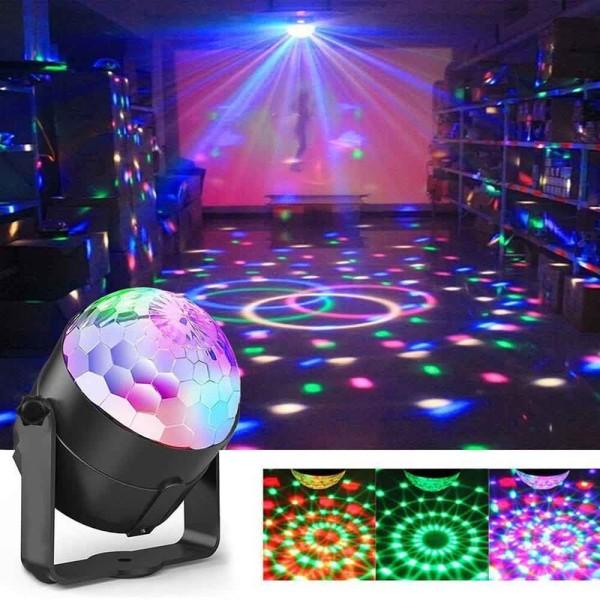 Bảng giá Đèn LED 7 màu vũ trường cảm ứng nhạc ( không remote ), bóng đèn LED trụ, đèn LED xoay 7 màu sân khấu chớp theo nhạc, Đèn nháy theo nhạc, đèn chớp 7 màu, đèn trang trí, đèn Led karaoke, đèn Led vũ trường