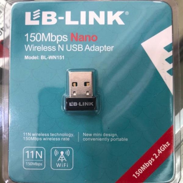 Bảng giá Usb thu wifi LB-LINK BL-WN151 Nano (Đen) Phong Vũ