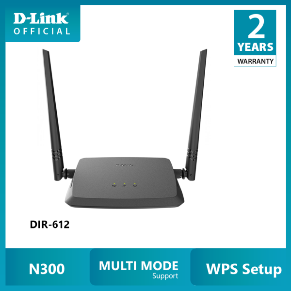 D-LINK DIR-612 N300 Bộ phát Wi-fi