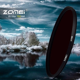 Zomei 77mm 58mm 67mm 72mm IR Filter 680NM 720NM 760NM 850NM 950NM X-Ray Infrared Infrared Filter For Canon Nikon Sony thumbnail