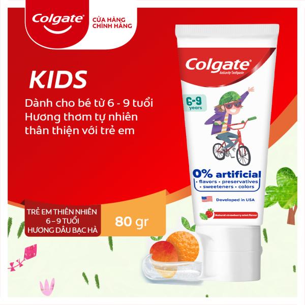 Kem đánh răng Colgate Kid Free From 6-9 80g