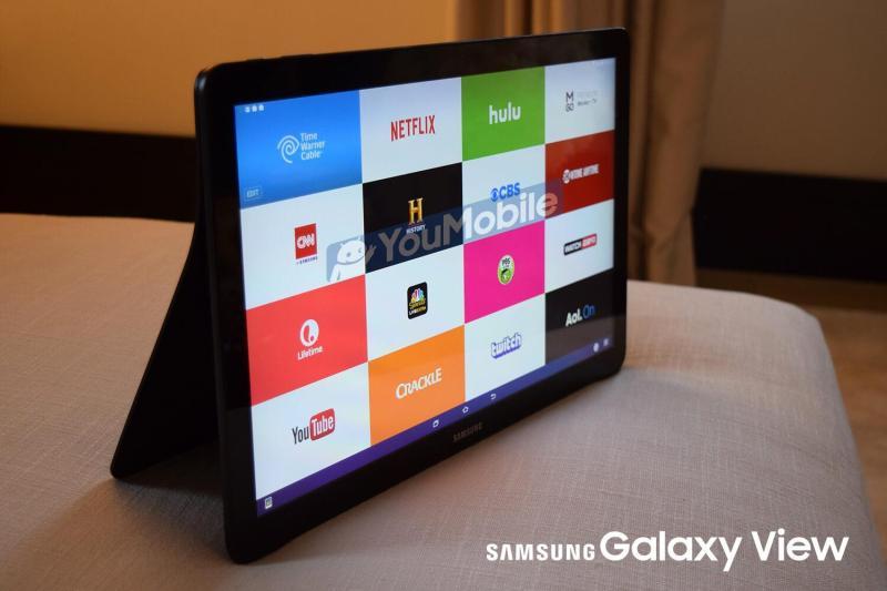 Máy Tính Bảng  SamSung Galaxy View 18.4 inch  Màn hình Siêu Khủng , Pin siêu trâu , Hỗ trợ 4G LTE    Tại PlayMobile chính hãng