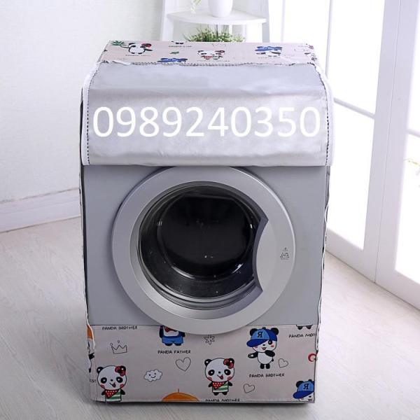 Vỏ Bọc, Áo Trùm Máy Giặt Lồng Ngang (Cửa Trước) Vải Bạt Bền Đẹp Chống Nước