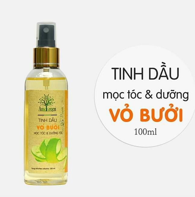 Serum tinh dầu bưởi phục hồi tóc-trị rụng tóc-kích mọc tóc Amegreen giá rẻ