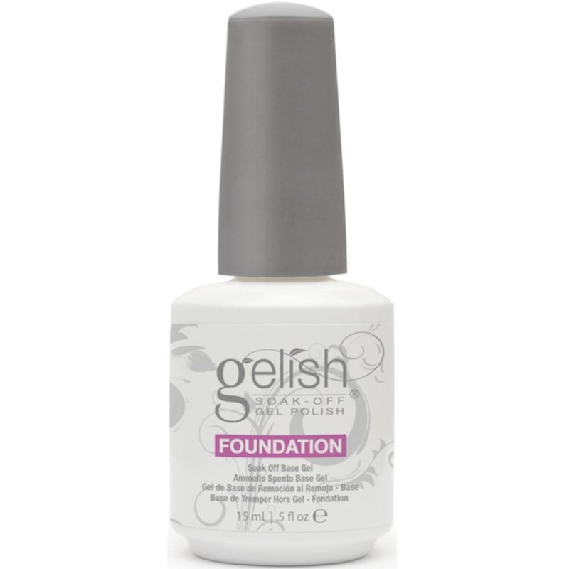 Sơn Móng Tay Gel Gelish Top-It-Off, Base Gel Foundation (dành cho tiệm nail chuyên nghiệp)