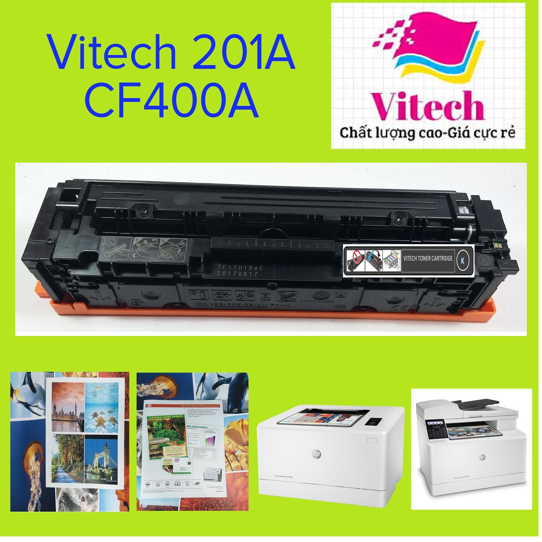 Giá Hộp mực in VITECH 201A-Hộp mực máy in HP Color LaserJet Pro M252, MFP M274, M277-Có thể tái nạp-Xuất hóa đơn đỏ