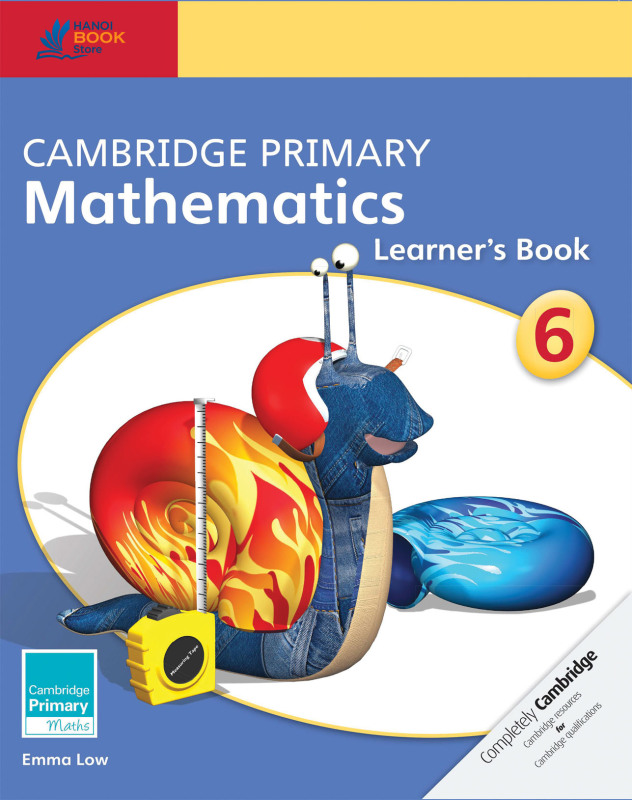 Cambridge Primary Mathematics 6 Learner'S Book - Hanoi Book Store