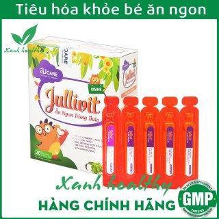 Jullivit Siro Ăn Ngon cho bé bổ sung DHA, Taurin, Vitamin và khoáng chất - Hộp 20 ống x 10ml thumbnail