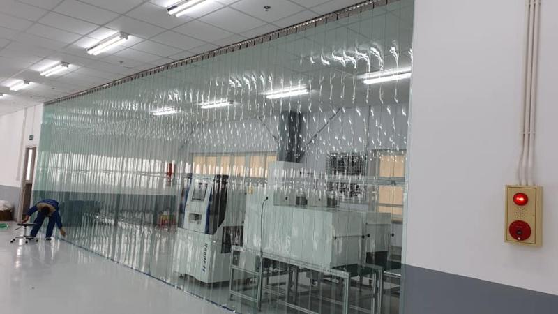 Rèm nhựa PVC 1.5mm ngăn lạnh, cách nhiêt, Ngăn bụi, Chống côn trùng