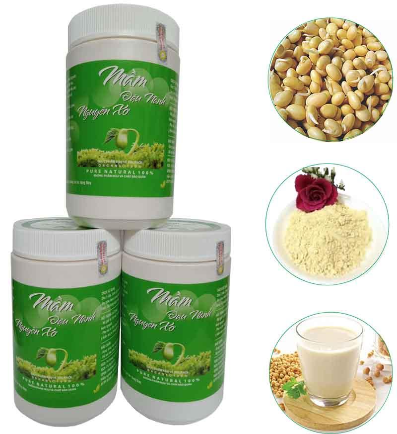 (1KG) Bột mầm đậu nành (Tăng vòng 1 hiệu quả)