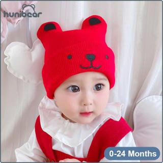 Mũ Len Cho Bé Trai 0-24 Tháng Tuổi, Mũ Len Ấm Áp Phong Cách Hoạt Hình Cho Trẻ Em