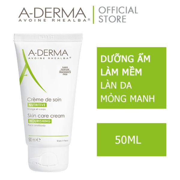 A-DERMA Kem dưỡng SKINCARE CR. 50ML