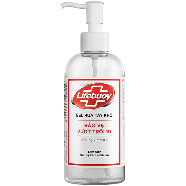 Gel rửa tay khô Lifebuoy 330ml giá rẻ