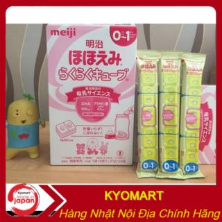Sữa Meiji thanh nội địa Nhật Sữa Meiji thanh số 0 - 1 - [HÀNG CHÍNH HÃNG ] - Giúp tăng cân và tăng chiều cao tốt - Hàm lượng canxi và DHA cao - Hỗ trợ hệ tiêu hóa và miễn dịch - Giàu vitamin thumbnail