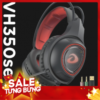 TAI NGHE GAMING DAREU VH350SE LED ĐỎ thumbnail