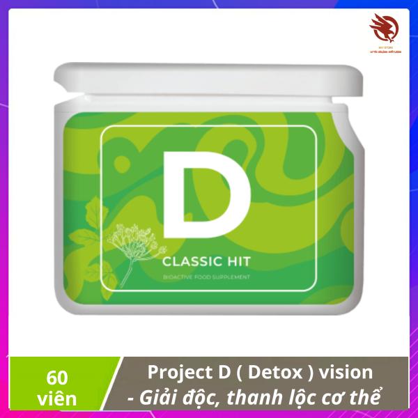 [ XẢ KHO ] Project V - D (Detox) vision - Thanh lộc, giải độc cơ thể ở cấp độ tế bào nhập khẩu