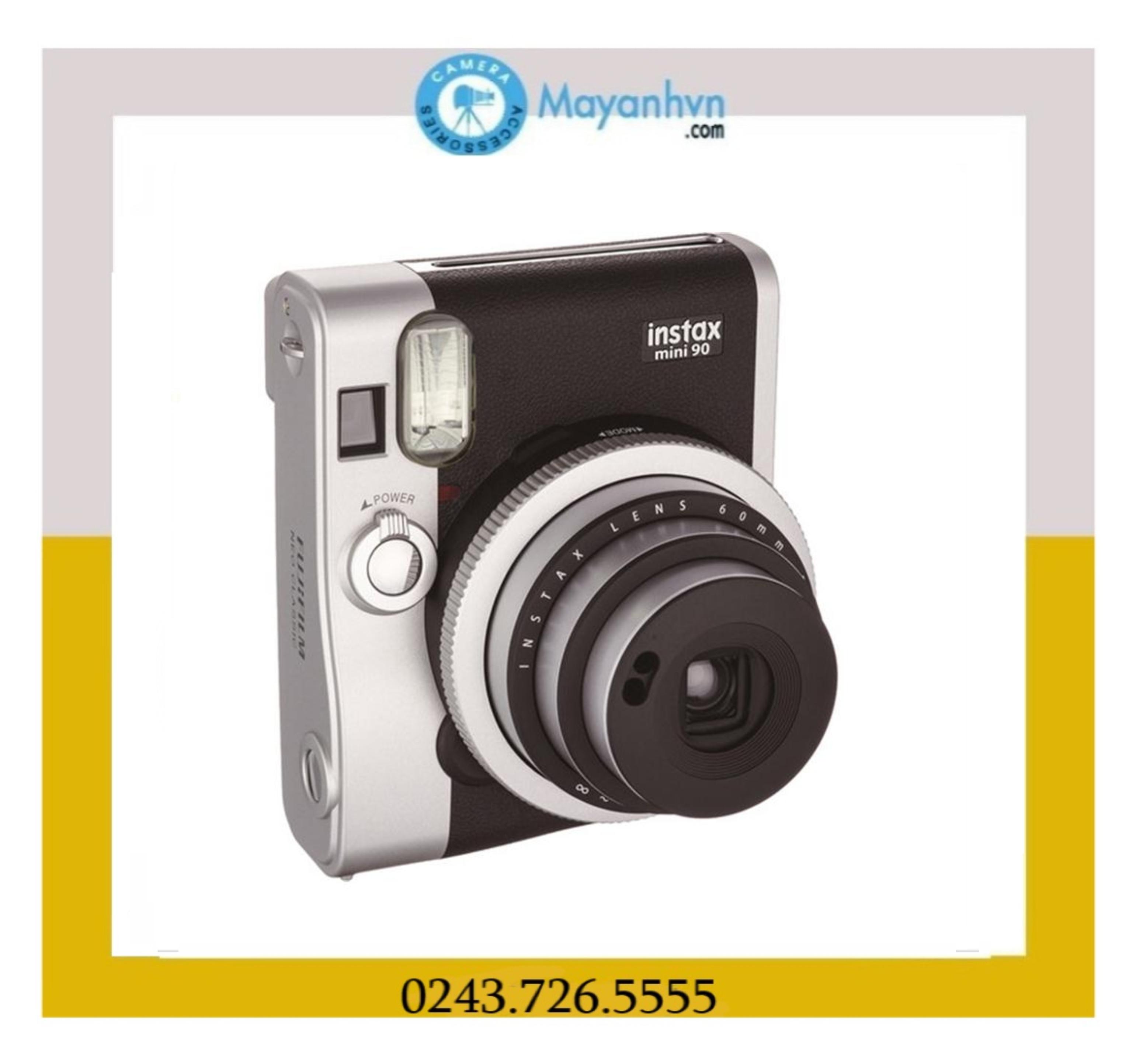 Fujifilm Instax Mini 90 (Đen) - Hãng Phân Phối Chính Thức Giá Quá Tốt Phải Mua Ngay