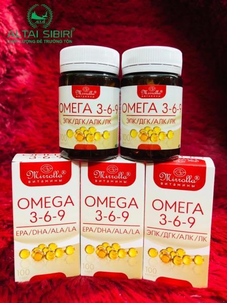 Viên uống bổ mắt omega 369 Nga