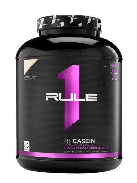 Thực phẩm bổ sung whey hấp thu chậm R1 Rule 1Casein 55 servings - 4lb cao cấp