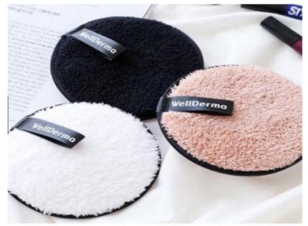 SET 03 MIẾNG RỬA MẶT TẨY TRANG WELLDERMA nhập khẩu