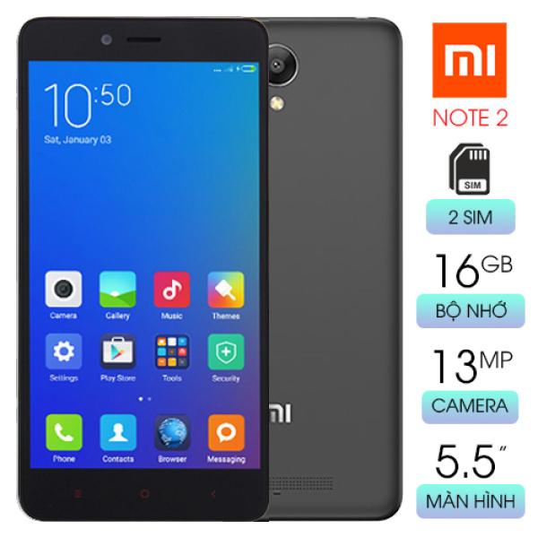 Điện thoại Xiaomi Redmi Note 2 Ram 2GB bộ nhớ 16GB giá hấp dẫn chưa đến 1 triệu