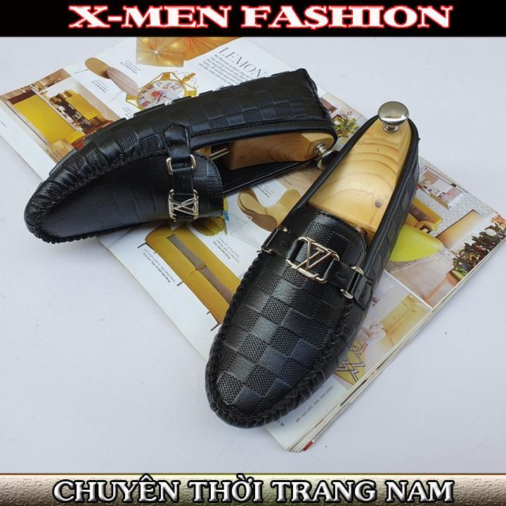 Giày Lười Nam Trơn Bán Chạy - Sale Giá Sỉ Giày Công Sở Nam Thời Trang Cao Cấp Thích Hợp Với Các Bộ Quần Tây áo Sơ Mi X-MENFASHION - GTNXM0023 Có Giá Tốt