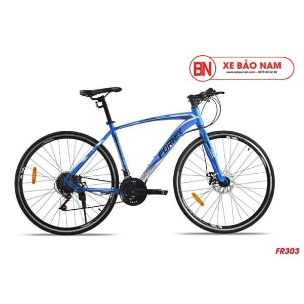 Phân phối Xe đạp thể thao Fornix FR303 mới  màu xanh dương