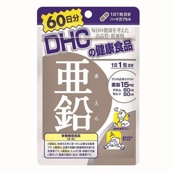 Viên uống giảm mụn kẽm DHC 60 ngày 60 viên Nhật Bản
