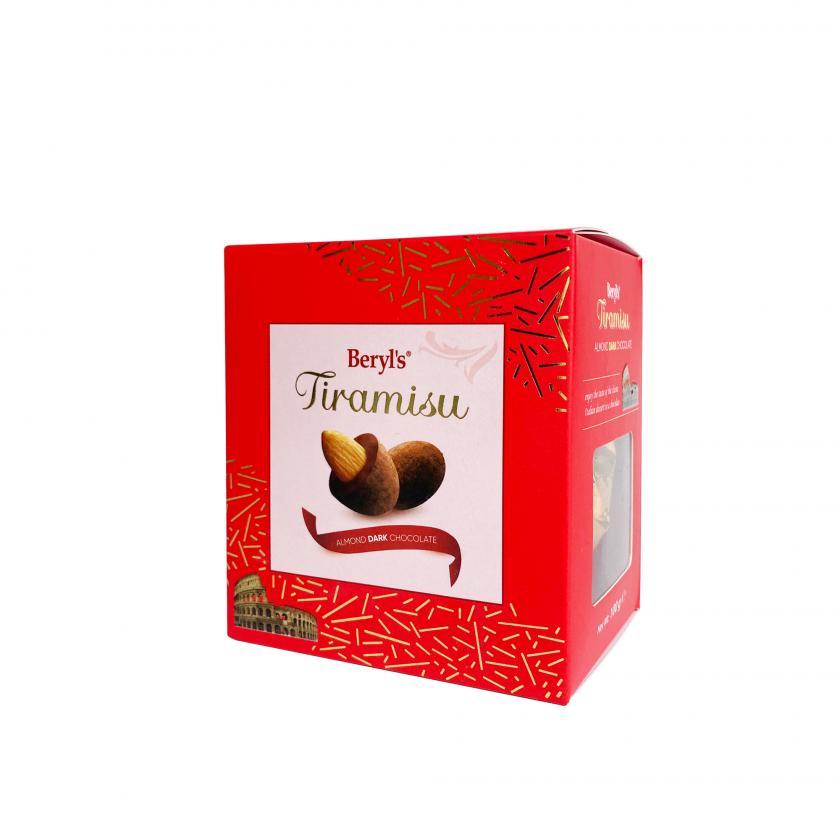 Socola đen bọc hạnh nhân Tiramisu 100g