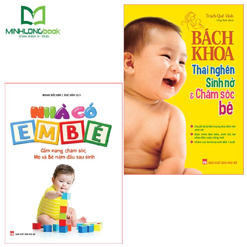 Sách: Combo  Bách Khoa Thai Nghén + Nhà Có Em Bé