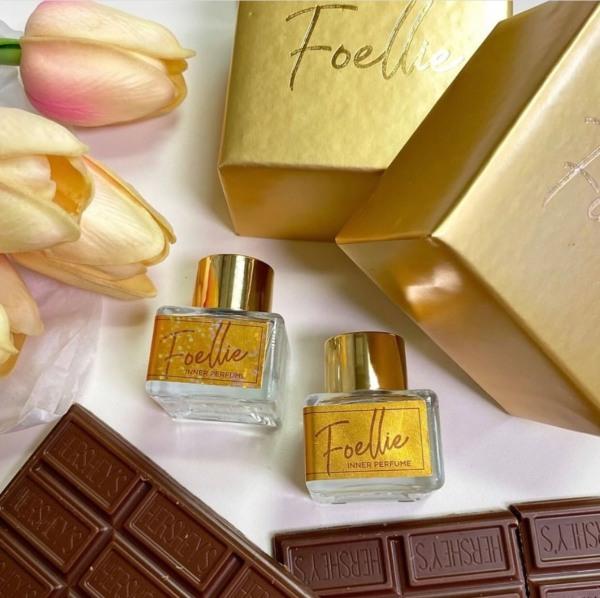 Nước hoa vùng kín Foellie Inner Perfume mẫu chocolate gold valentine
