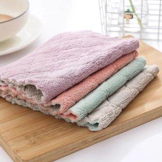 Khăn Lau Chùi Đa Năng 2 Mặt Nhà Bếp Sạch Sẽ (1 khăn) thumbnail